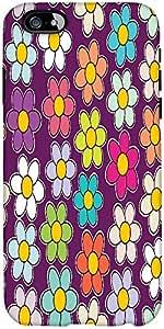 Snoogg Inconsútil Floral Patrón Textura Margarita Diseñador Protectora Volver...