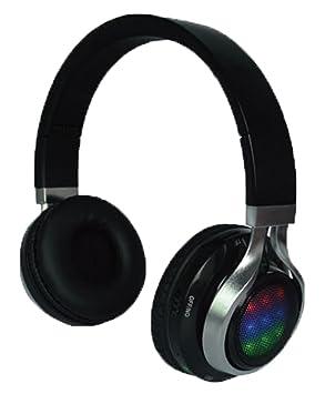 QFX H-252 Binaural Diadema Negro auricular con micrófono - Auriculares con micrófono (Binaural, Diadema, Negro, Inalámbrico y alámbrico, 1,2 m, ...