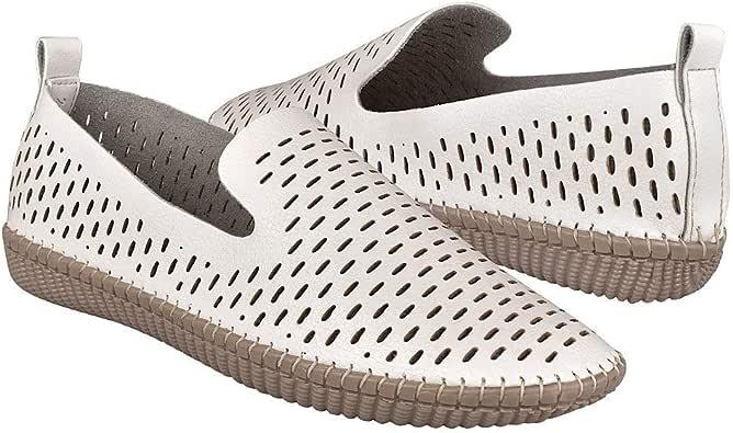STYLO Zapatos Casuales para Dama 10628 SIMIPIEL Blanco