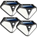 Solar Lights Outdoor, 3 Optional Modes 102 LED Solar Powered Security Lights with Waterproof Wireless Solar Security Lights M
