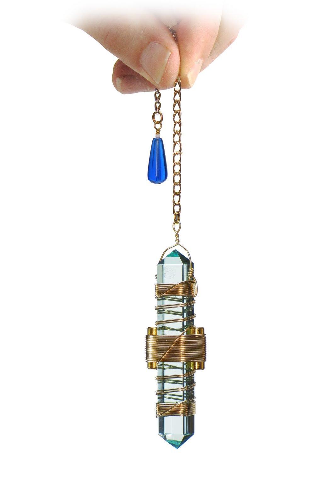 3.5'' Buddha Maitreya the Christ Etheric Weaver® in Gold Wire - Quartz Crystal Vibrational Healing Tool