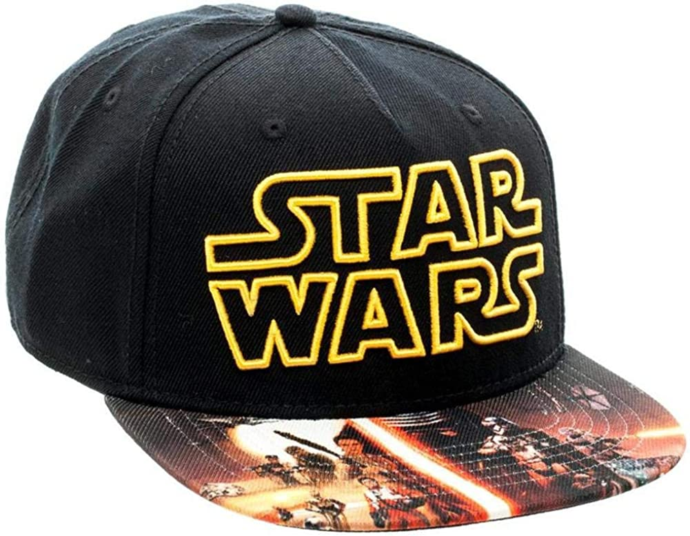 Star Wars Force Awakens- Gorra sublimada de snapback, talla única ...