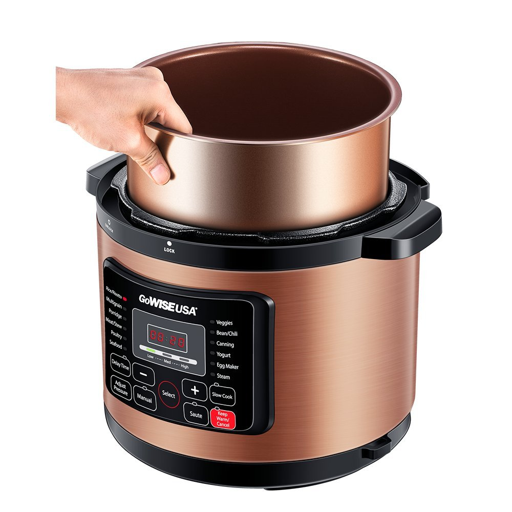 The Best Electric Pressure Cooker 8 Quart Gowise Usa Top
