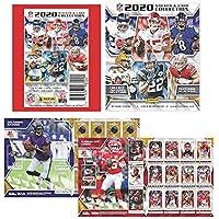 2020 Panini NFL Football Sticker Collection Starter Kit (20 packs & 1 album)