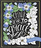 Best Christian Art Gifts Book For Women - Chalk It Up To Grace: A Chalkboard Coloring Review
