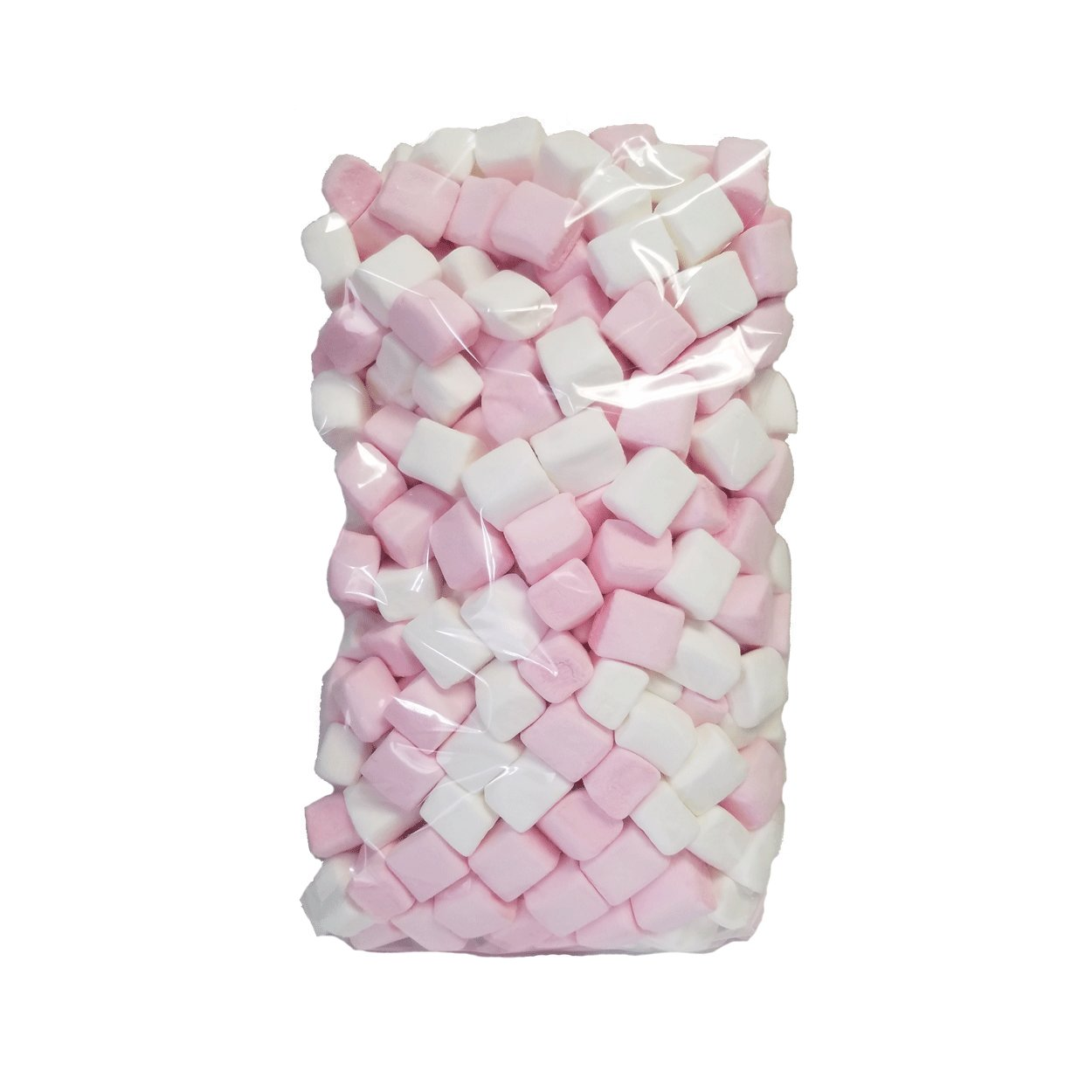 Hoosier Hill Farm Belgian Marshmallow Cubes, Pink and White, 2.2 lbs (1kg)
