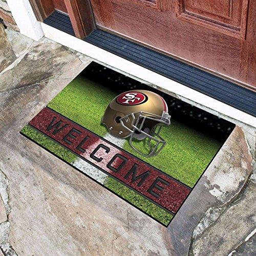 San Francisco 49ers Welcome Mat 49ers Welcome Mat 49ers