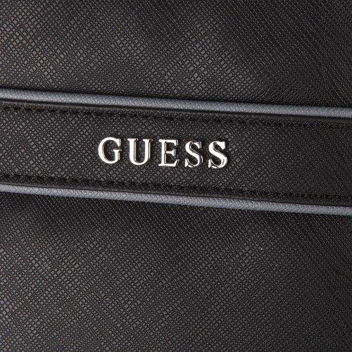 Guess - Bolsa de viaje de poliuretano Hombre negro negro Taille Unique: Amazon.es: Zapatos y complementos