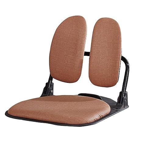 Pleasing Amazon Com Lrsfy Korean Folding Wrought Iron Floor Chair Theyellowbook Wood Chair Design Ideas Theyellowbookinfo