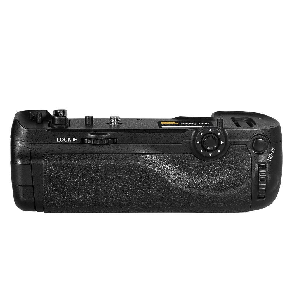 Pixel Vertax D18 Replacement Vertical Battery Grip for Nikon D850 Digital Camera install with one battery of EN-EL15a/EN-EL15