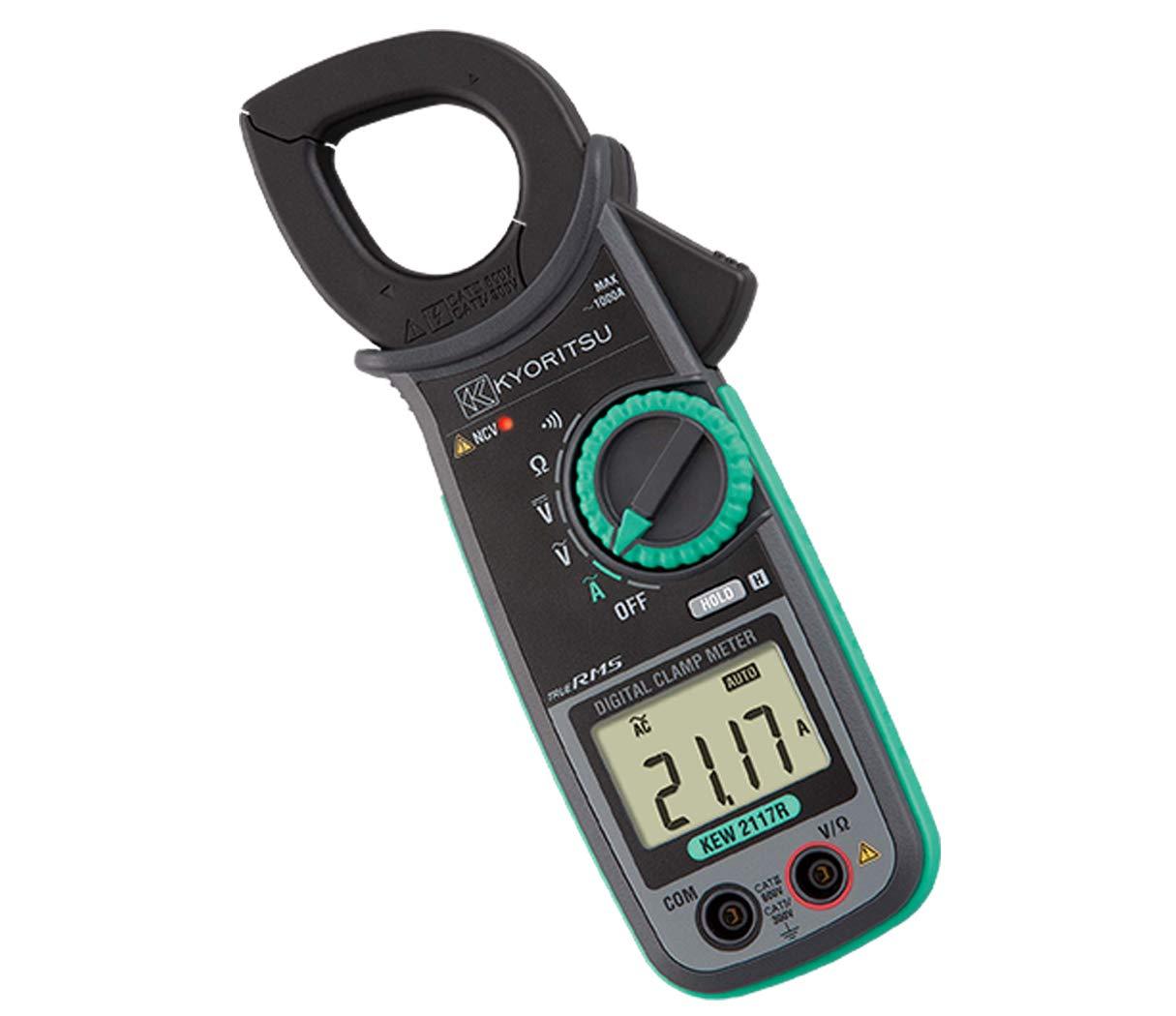 Kyoritsu AC Digital Clamp Meter KEW 2117R : Amazon.in: Industrial &  Scientific