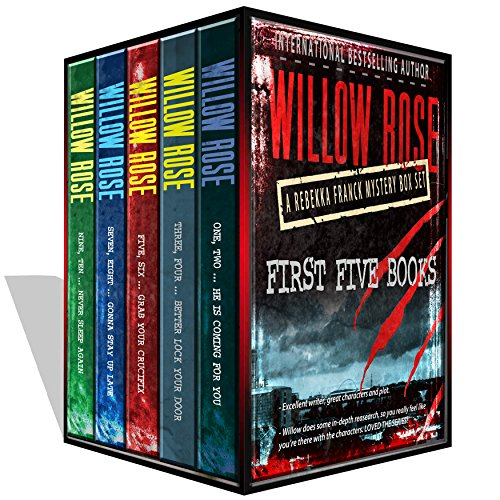 Friday's Kindle Daily Deal!  A boxed set not to be miss from the Queen of Scream novels:  Rebekka Franck Series Box Set Vol 1-5 by Willow Rose