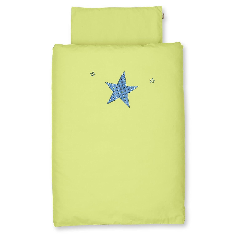 Sterntaler 9201510 Baby-Bettwäsche Danny