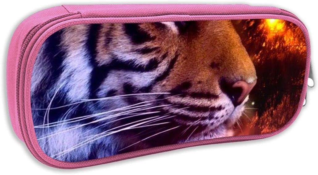 Redfhkpw Tiger - Estuche para lápices y bolígrafos, diseño de Tigre: Amazon.es: Hogar