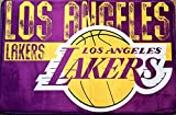 The Northwest Company NBA Los Angeles Lakers Embossed Memory Foam Rug, One Size, Multicolor