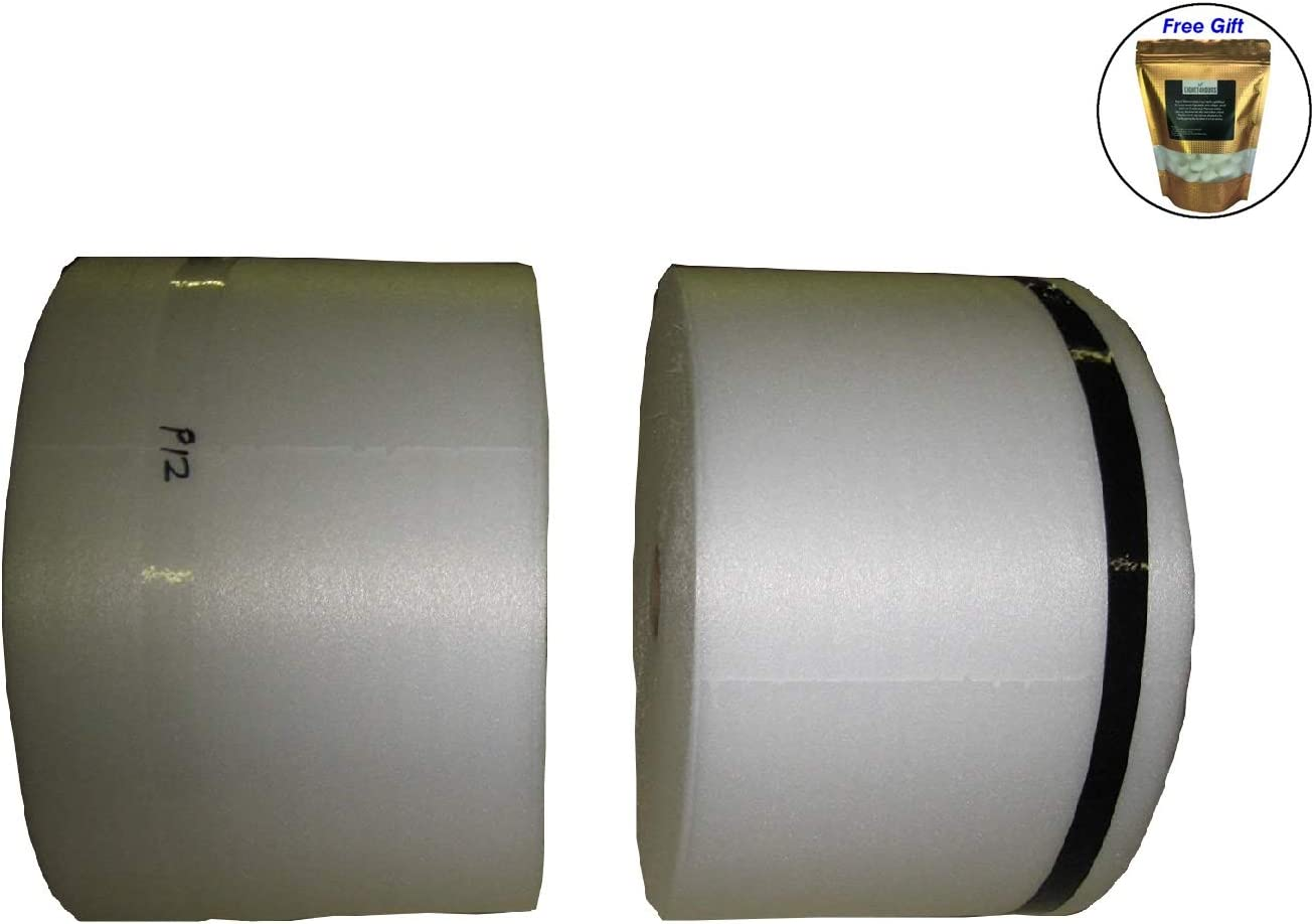 "1//16/"" PE Foam Protective Packaging 12/"" X 1250/' Per Bundle"