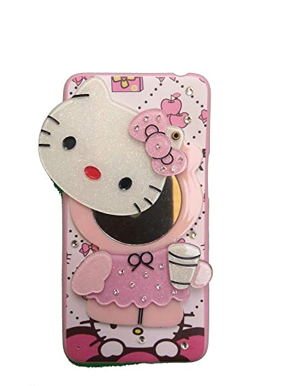 promo code 622a5 b0730 ANVIKA Mirror Hello Kitty Mobile Girl Case Cover for Oppo A37 / Oppo A37F  (Multi Color)