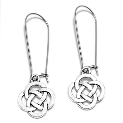 1841faf9f Amazon.com: Sabai NYC Knots Dangle Earrings on Kidney Ear Wires (Carrick  Bend Mat): Jewelry