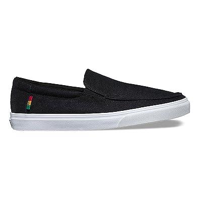 Vans Bali SF (Hemp Black/Rasta/White) Men's Skate Shoes-8