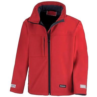 Resultado junior clásica chaqueta de Softshell de 3 capas ...