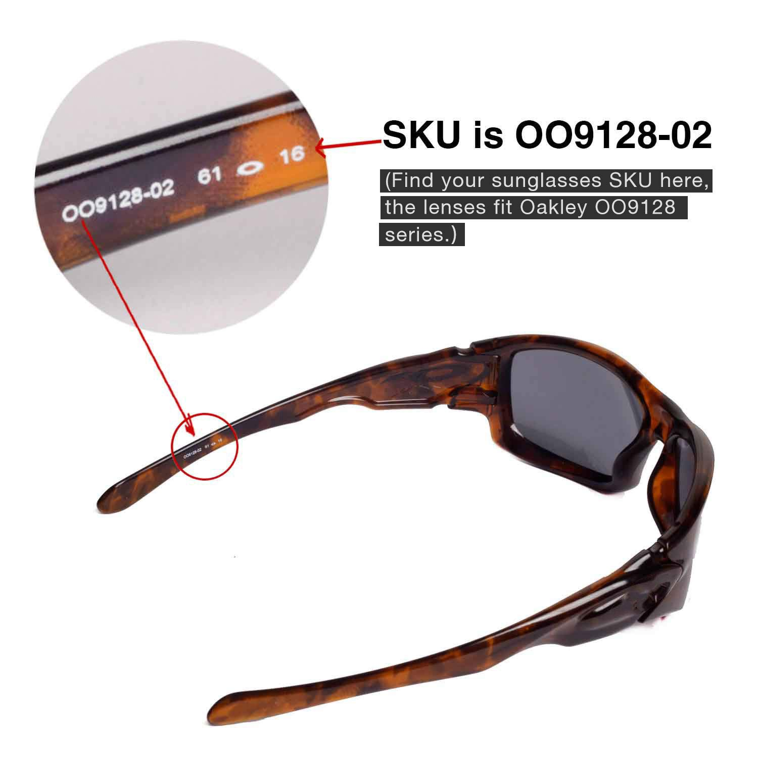 059a5a88eb Amazon.com  Walleva Replacement Lenses for Oakley Ten Sunglasses - 10  Options Available (Black - Mr. Shield Polarized)  Clothing