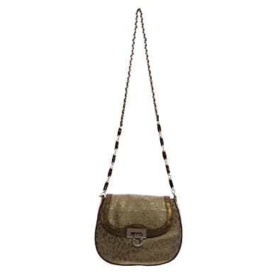 06273e1417 Elaine Turner Women's Linen & Distressed Leather Kathleen Crossbody Bag One  Size Cheetah: Handbags: Amazon.com