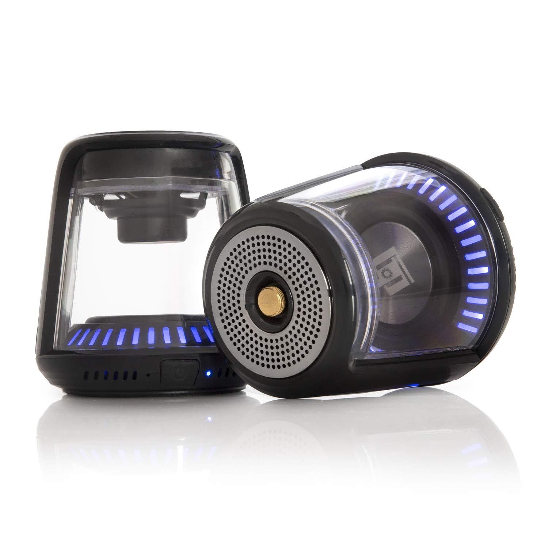 Deco Gear トゥルーワイヤレスBluetoothスピーカー – 大きなサウンドLED照明、磁気ベース付き   B07NQR7N9F