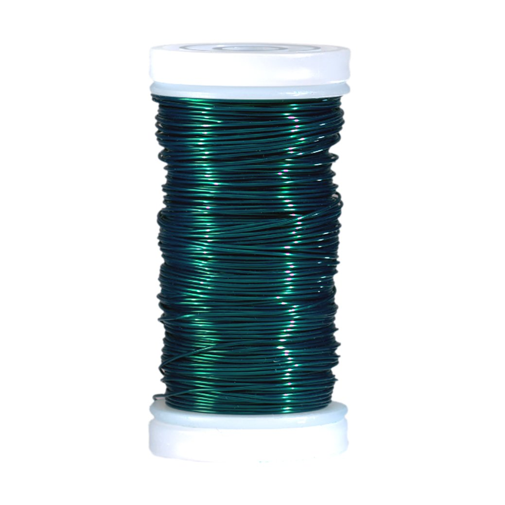 Efco 0.5 mm x 25 m Coloured Copper Wire, Green 22 331 67
