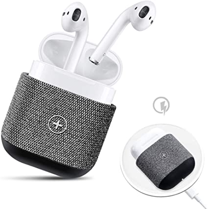 Amazon Com Airpods Case Cover Nuly Fabric Wireless Charging