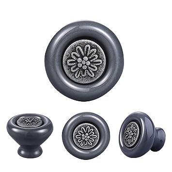 Boutons De Portes En Ceramique 4pieces Diametre 40mm