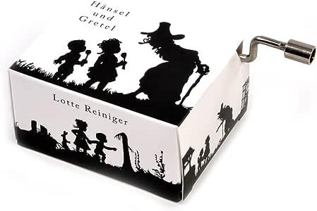 GESCHENK 10ES58551ES10 Lotte Reiniger Silhouette Filmmaker Music Box - Hansel and Gretel/Hänsel und Gretel: Amazon ...