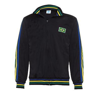 Authentic Brazilian Long Sleeved Capoeira Zip-Up Jacket Unisex Black