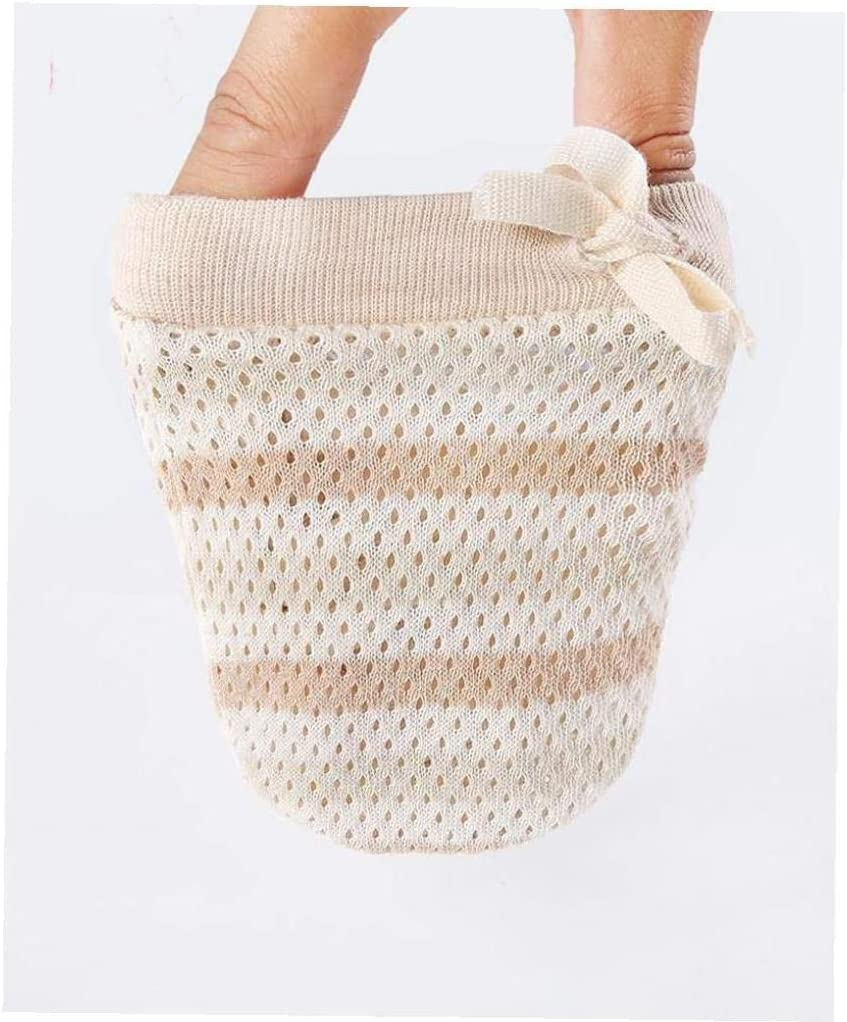 Newborn Cotton No Scratch Gloves Drawstring Adjustable Mittens Anti Scratch Cotton Gloves Mittens for Baby Infants Pink