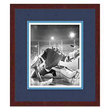 Amazon.com: Brown Wood Frame with Triple Mat for 5x7 Photos ...