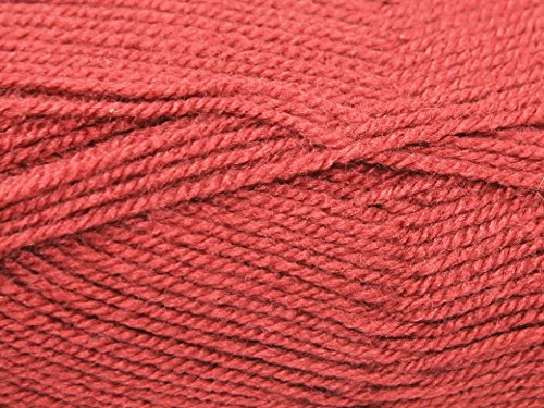 King Cole Pricewise Knitting Yarn DK 379 Terracotta - per 100 gram ball