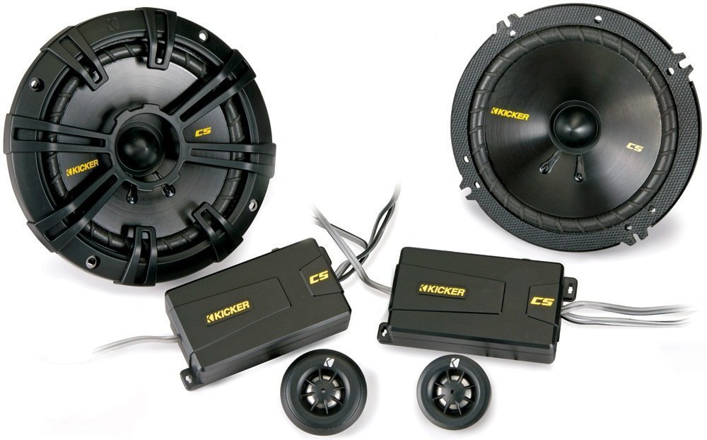 Kicker 40CSS654 6.5'' 300W Component Speakers Systems