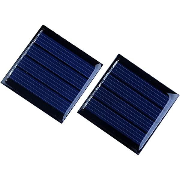 70MM Fdit 0.7W 1.5V Mini Portable Polysilicon Solar Cell Panel DIY Power Module Charger for 1.2V Battery with Wire 70