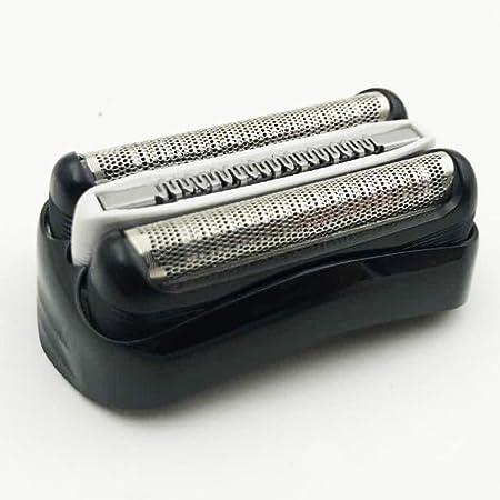 xiegons3 Pieza De Repuesto para Afeitadora,Reemplazo De Cabezal De Aluminio Compatible con Braun 301S,310S,320S,340S ...