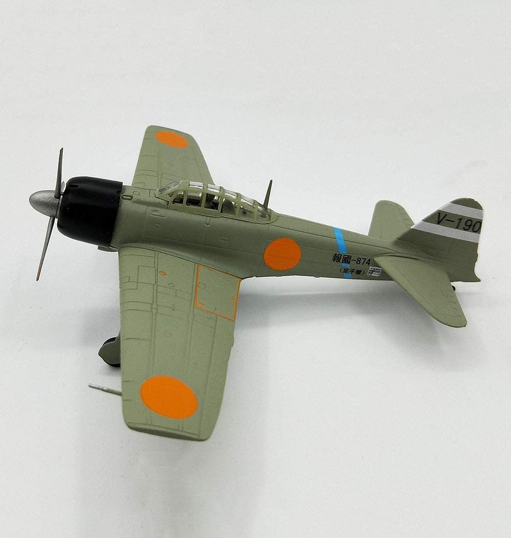 6Inch X5inch Puzzle Pleasure 1//72 Scale Fighter Alloy Model Military Japan 1942 A6M3 Zero Adult Collectibles and Gifts