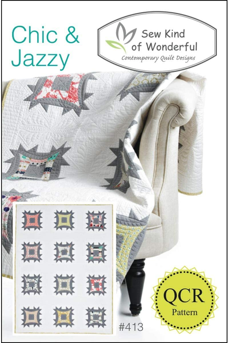 Chic /& Jazzy SKW 413-091037505859 Sew Kind of Wonderful