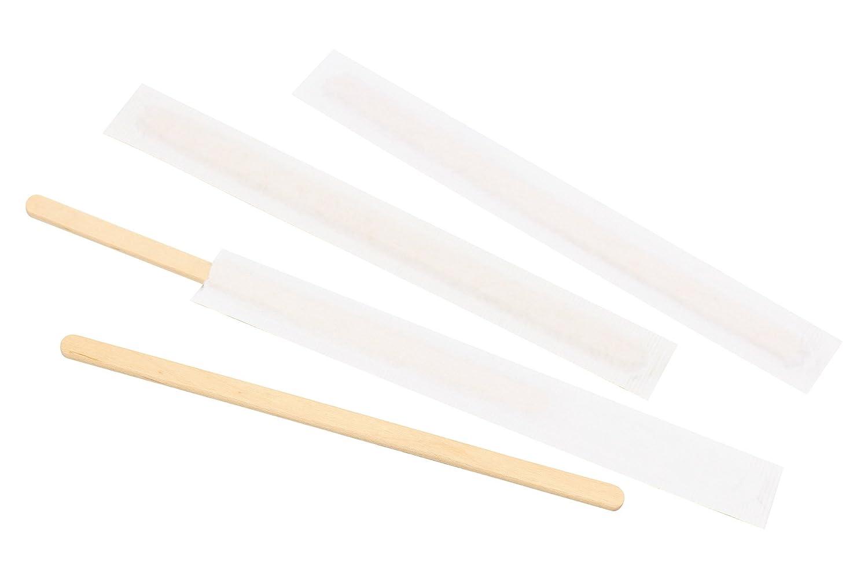 140/mm Caf/é remuer B/âtons de bois de bouleau Parfait pour m/élanger Caf/é dautres boissons jetables /à th/é Boisson M/élangeur papier Emball/é 100/pcs