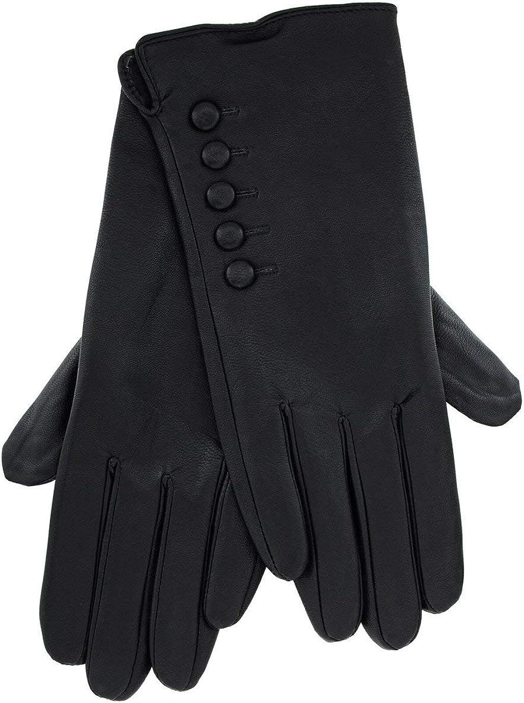 DOLORES Black Eco-Leather...