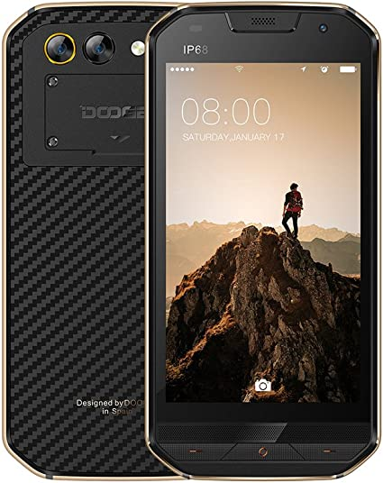 DOOGEE S30 IP68 Impermeable 5580 mAh Huella Digital Lateral Doble ...