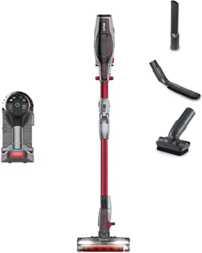 Shark IONFlex DuoClean Cordless Lightweight Vacuum, Red Renewed