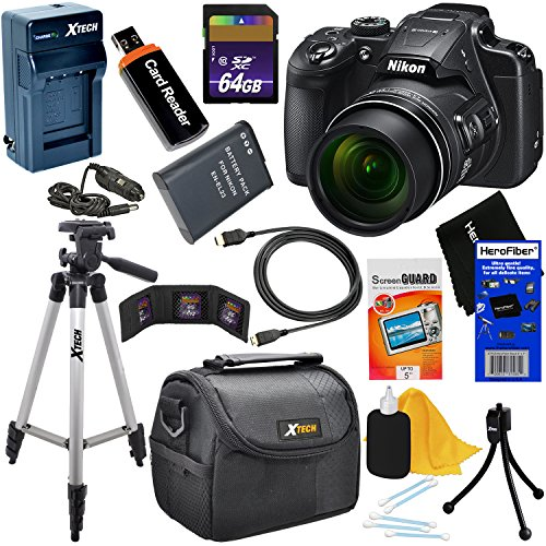 Nikon COOLPIX B700 Wi-Fi, NFC Digital Camera with 60x Zoom &