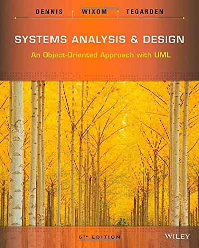 Systems Analysis and Design: An Object-Oriented Approach with UML cover