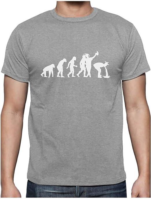 Tee Shirt Humour Homme - Bière Evolution