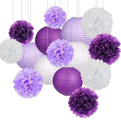 Nakeey Papel Pom Poms Flores Tissue para Decoración de Boda ...