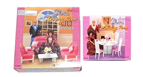 Amazon Com New Barbie Gloria Doll House Furniture Set Of 2