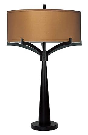 Revel Olympia Large 31u0026quot; 2 Light Modern LED Table Lamp, 12W LED (